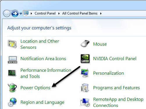 Không chỉnh được độ sáng màn hình win 7 máy tính bàn 1