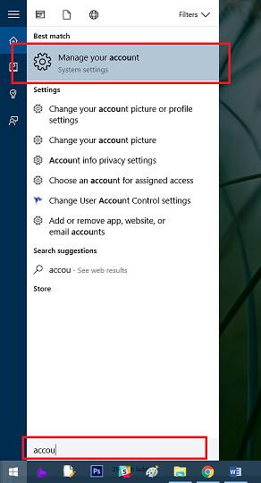 Hướng dẫn cách tắt mật khẩu win 10 4