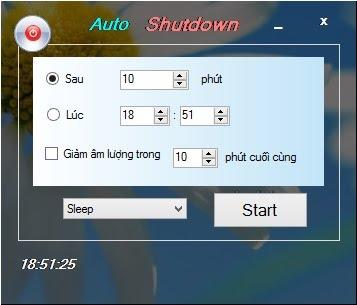 Cách hẹn giờ tắt máy tính win 8