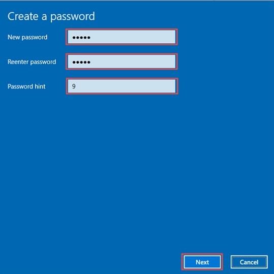 Cách đổi mật khẩu máy tính win 10