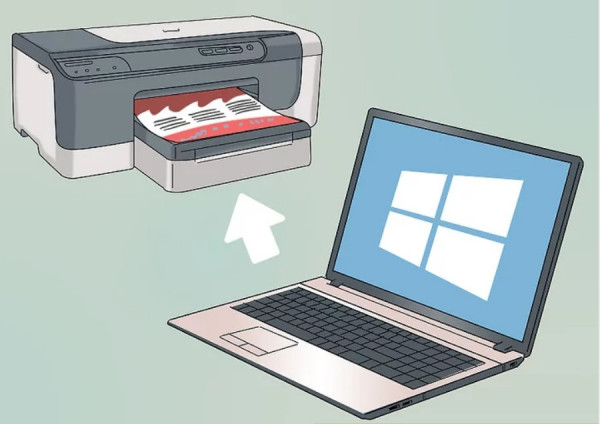 Cách kết nối máy in với laptop win 10