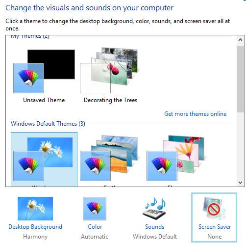 Cách đổi hình nền máy tính