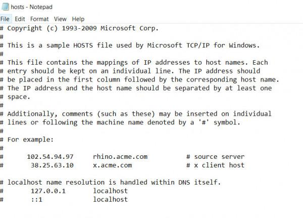 File host là gì? Các mở file host và cài đặt trên Windows
