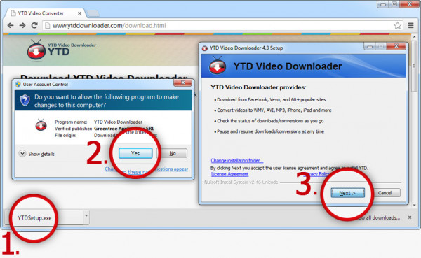 Tải video từ Youtube với YTD Downloader