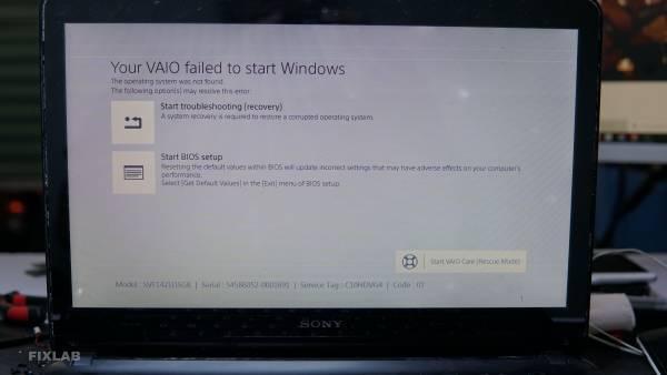 Sửa máy tính Sony Vaio uy tín thành phố Vinh