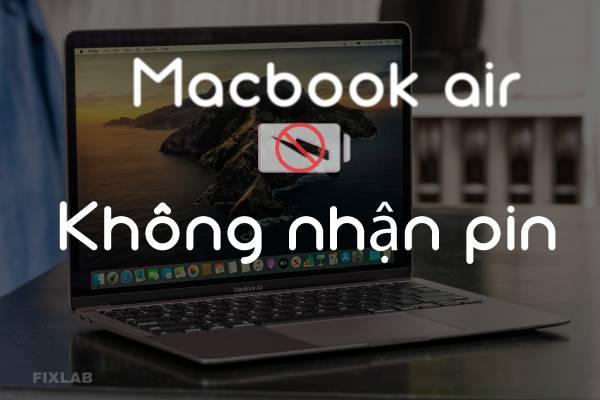 sửa macbook air 13″ 2011 không nhận pin tại FIXLAB sửa MACBOOK Tp Vinh