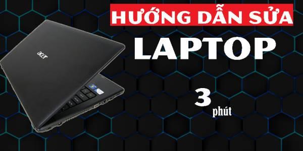 Hướng dẫn sửa laptop chỉ với 1 cây KÌM  FIXLAB sửa laptop tp Vinh